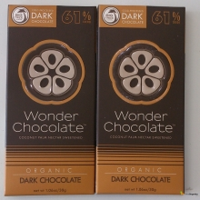 Wonder Chocolate organik 61% dark (30gr)