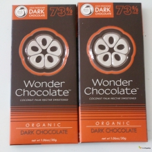 Wonder Chocolate organik 73% dark (30gr)